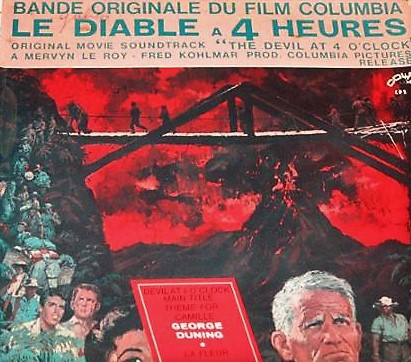 Le Diable a 4 Heures (The Devil at 4 O'Clock) 45 rpm EP